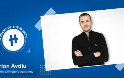 Arion Avdiu-  Unë zgjodha Akademinë në Gjuhën Shqipe Dhe Jam Shumë i Kënaqur Me Programin.