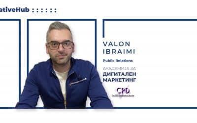 Интервју со Валон Ибраими – предавач на Академијата за Дигитален маркетинг